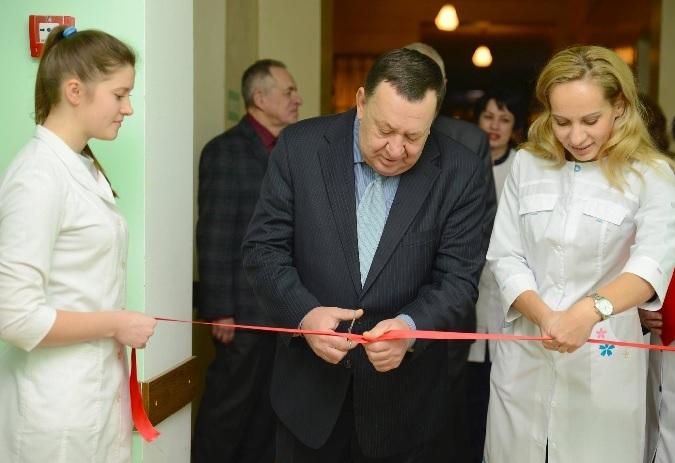 НКМЗ сдал в эксплуатацию капитально отремонтированный блок травматологии
