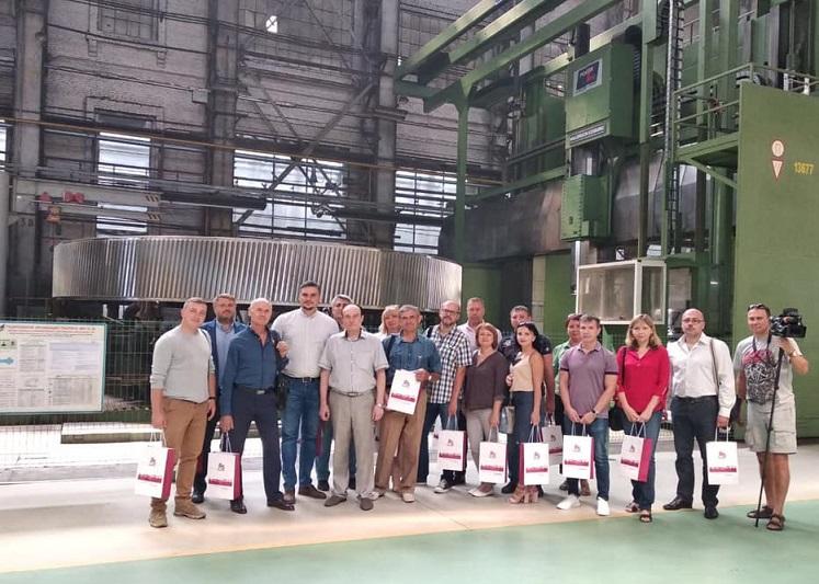 НКМЗ посетили мэры городов Донецкой области