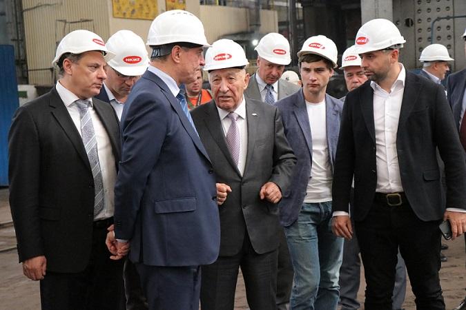 НКМЗ посетила правительственная делегация